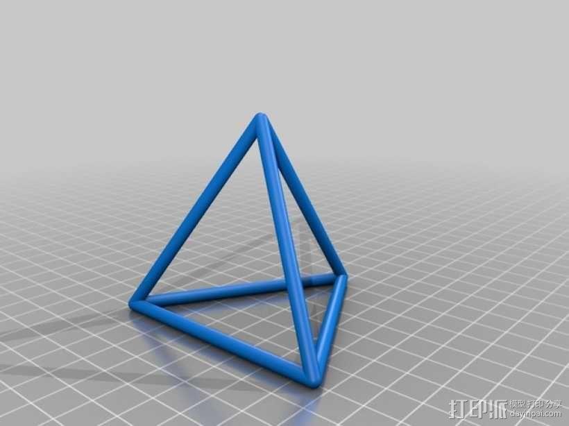 正多面体 3D模型  图9