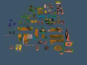 连接器 3D模型