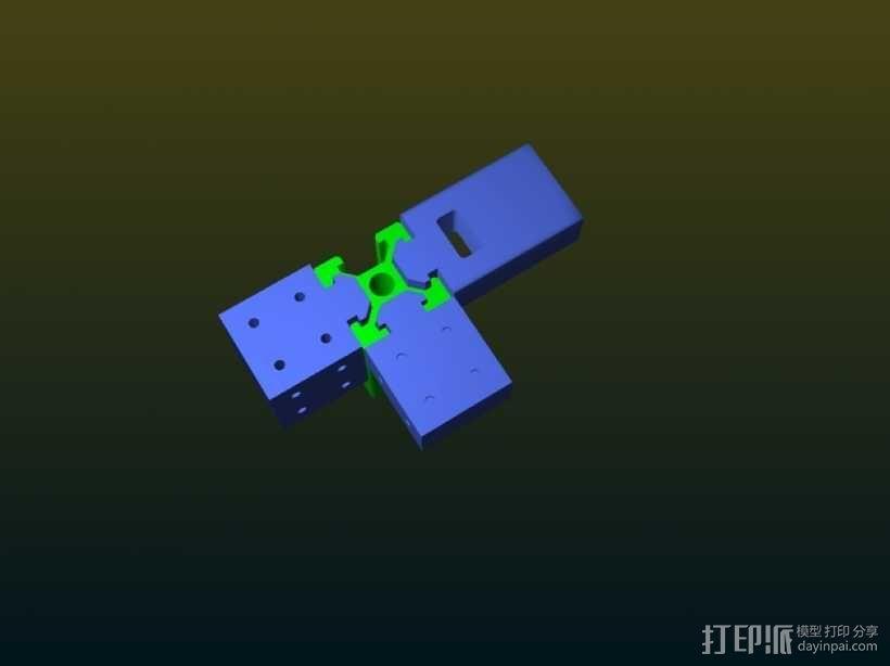 连接器 3D模型  图4