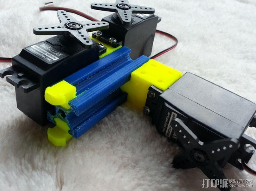 连接器 3D模型  图2