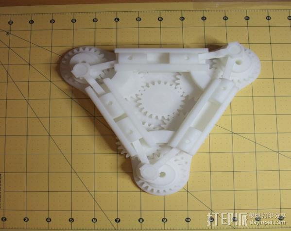Napier Deltic发动机 3D模型  图3