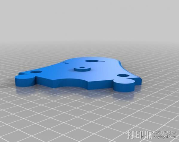 Napier Deltic发动机 3D模型  图5