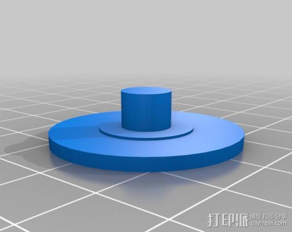 Napier Deltic发动机 3D模型  图10