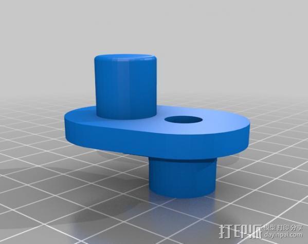 Napier Deltic发动机 3D模型  图11