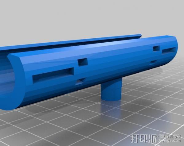 Napier Deltic发动机 3D模型  图15