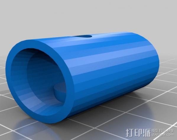 Napier Deltic发动机 3D模型  图19