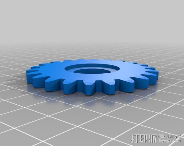 Napier Deltic发动机 3D模型  图21