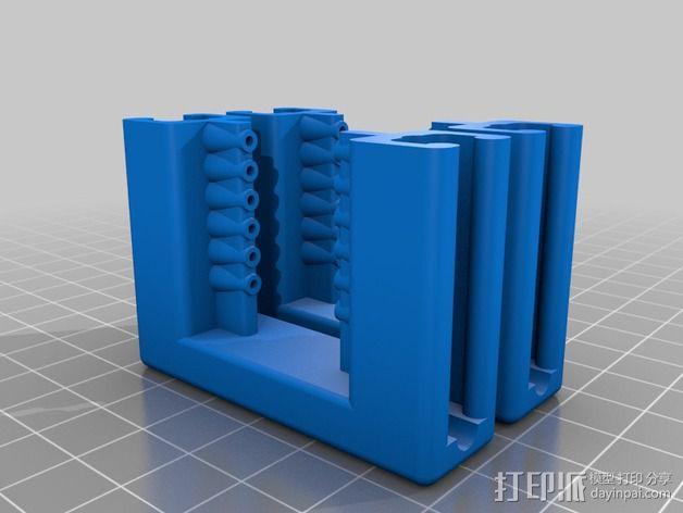 维姆胡斯特起电机 3D模型  图2
