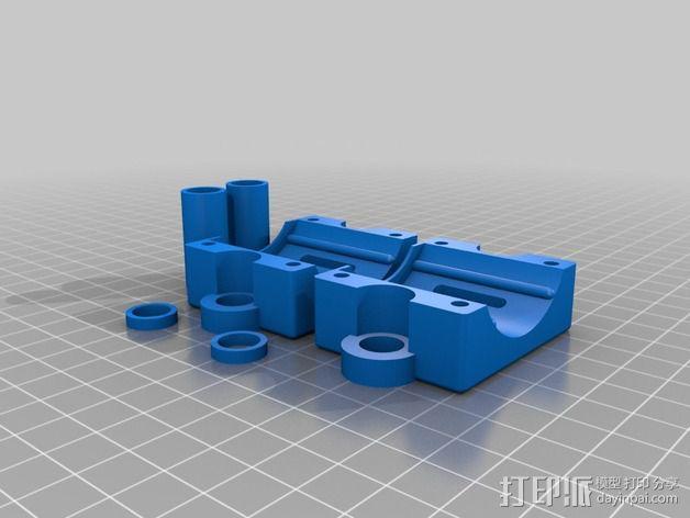 维姆胡斯特起电机 3D模型  图5