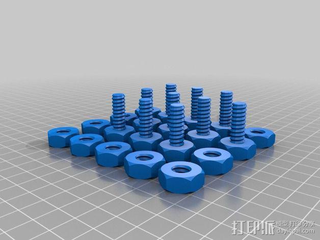 维姆胡斯特起电机 3D模型  图9