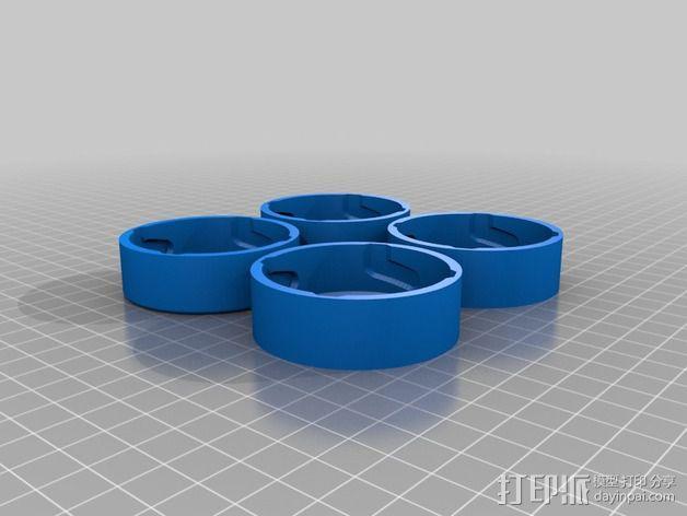 维姆胡斯特起电机 3D模型  图10