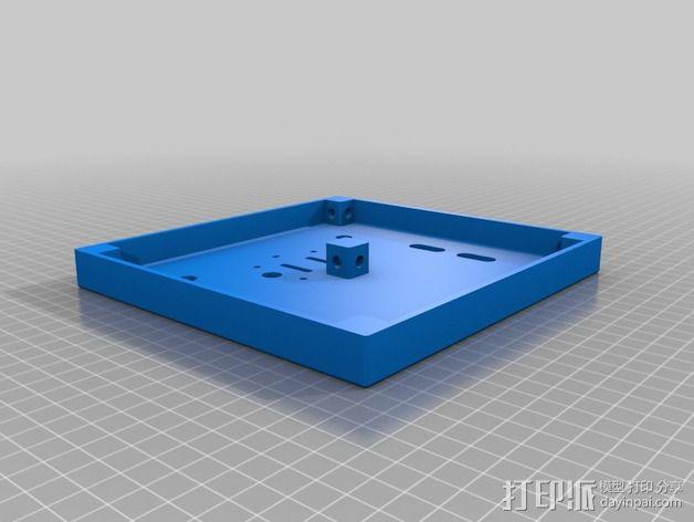 维姆胡斯特起电机 3D模型  图12