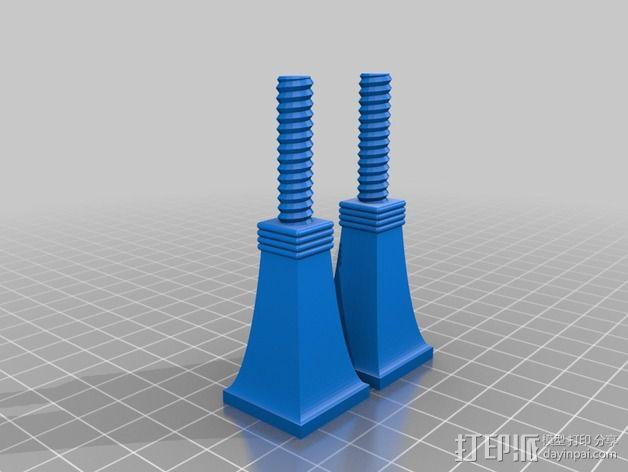 维姆胡斯特起电机 3D模型  图13