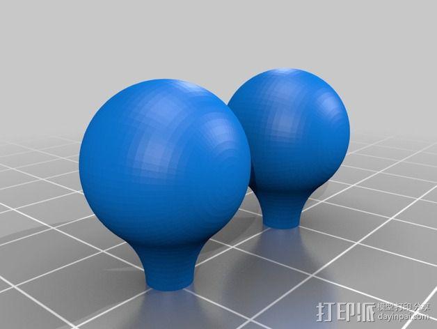 维姆胡斯特起电机 3D模型  图16
