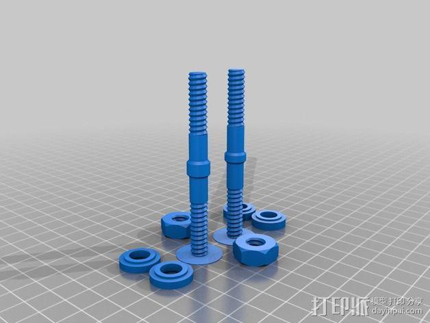 维姆胡斯特起电机 3D模型  图15