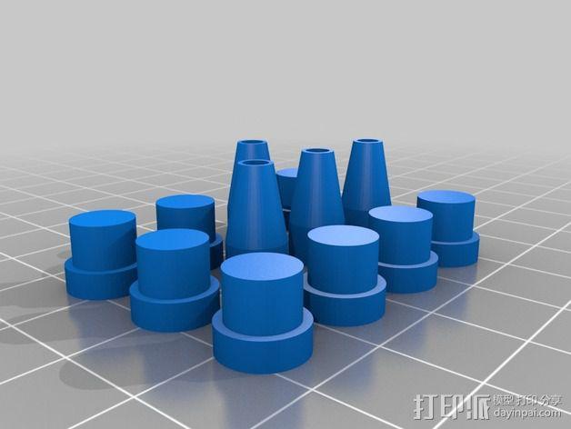 维姆胡斯特起电机 3D模型  图14