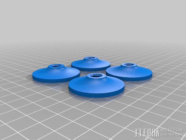 维姆胡斯特起电机 3D模型  图18