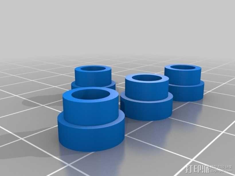 维姆胡斯特起电机 3D模型  图19
