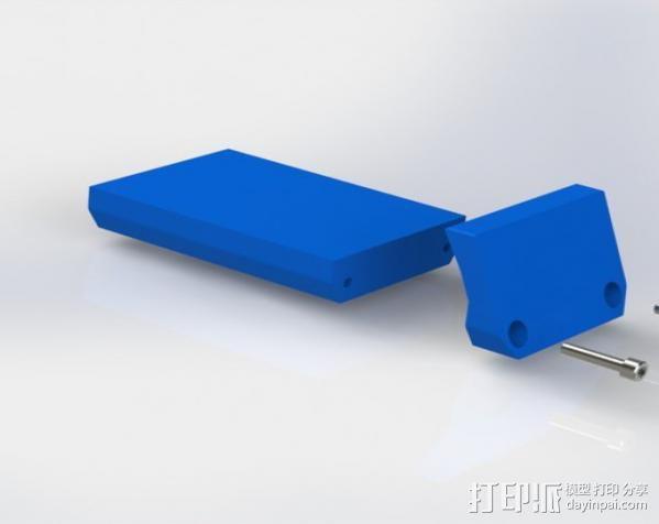 手机支架适配器 3D模型  图4