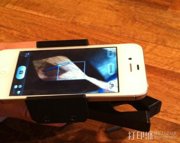 手机支架适配器 3D模型  图7