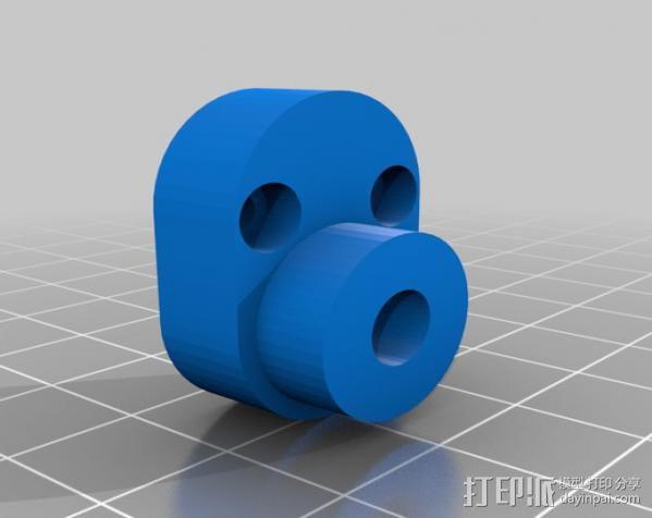 手机支架适配器 3D模型  图8