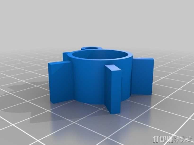 火箭模型 3D模型  图3