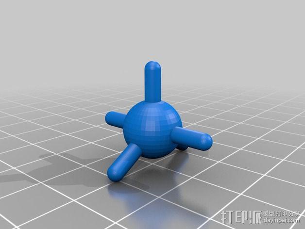分子模型 3D模型  图9
