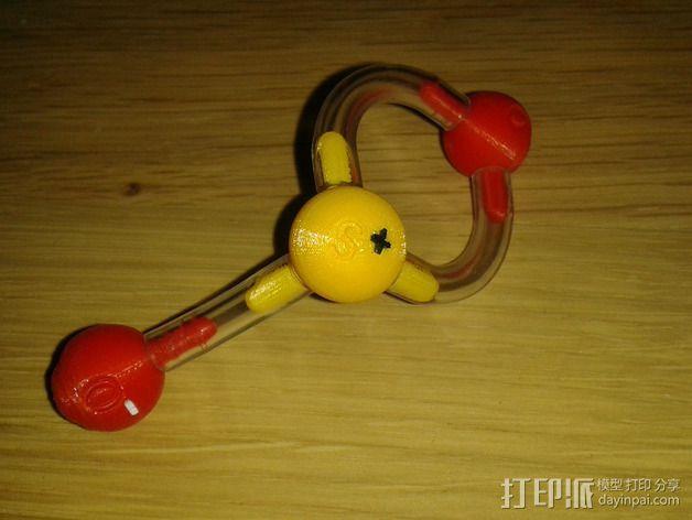 分子模型 3D模型  图16