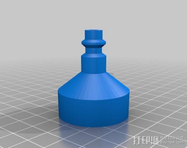 水火箭  3D模型  图4