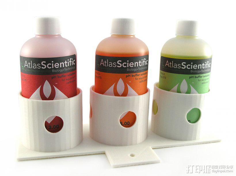 瓶架 水壶架 3D模型  图1