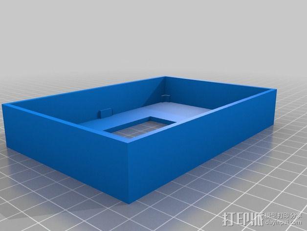 LED电路板盒子 3D模型  图2