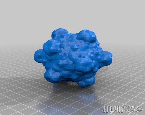 病原体 模型 3D模型  图3