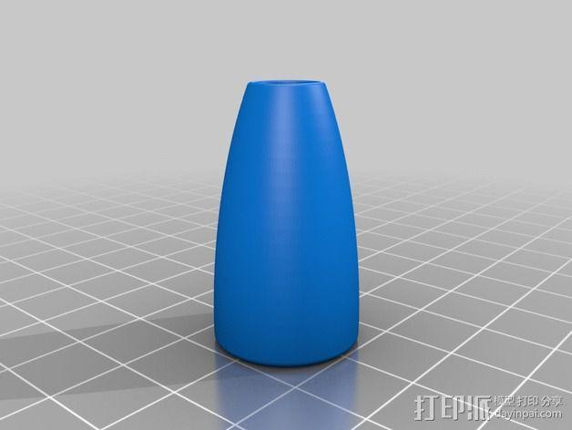 火箭形铅笔套 3D模型  图6