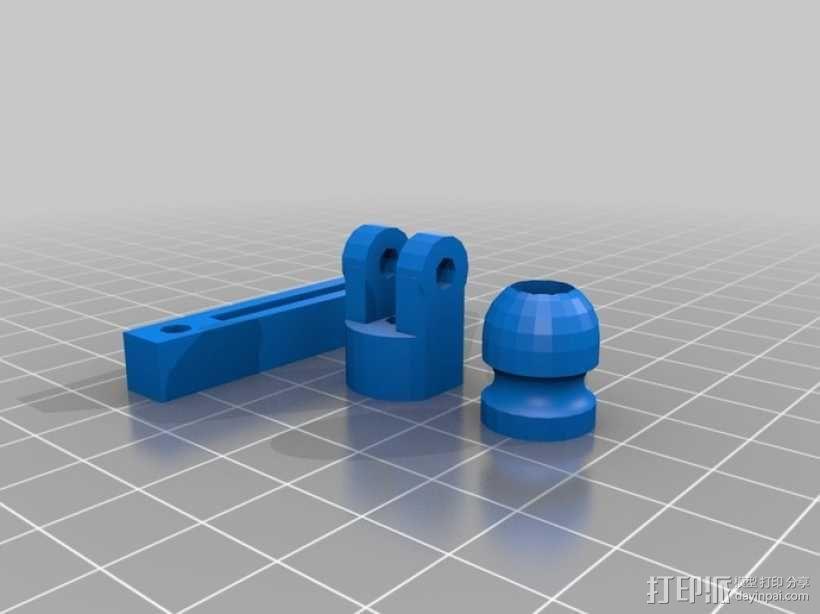 升降台 3D模型  图3