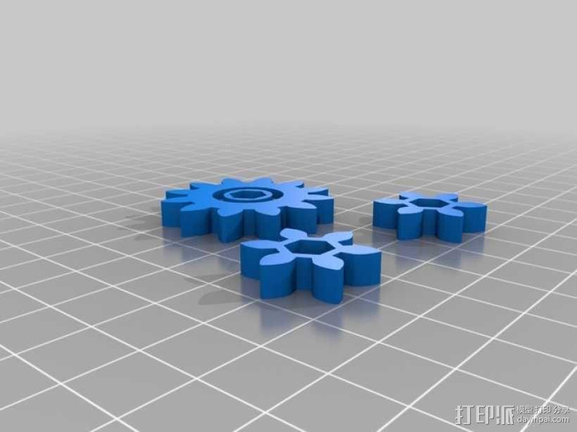 升降台 3D模型  图5