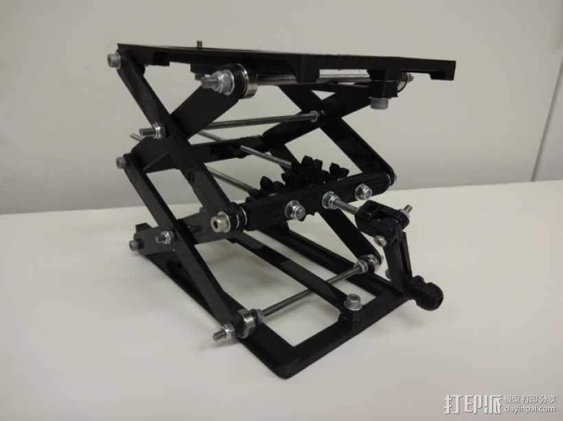 升降台 3D模型  图8