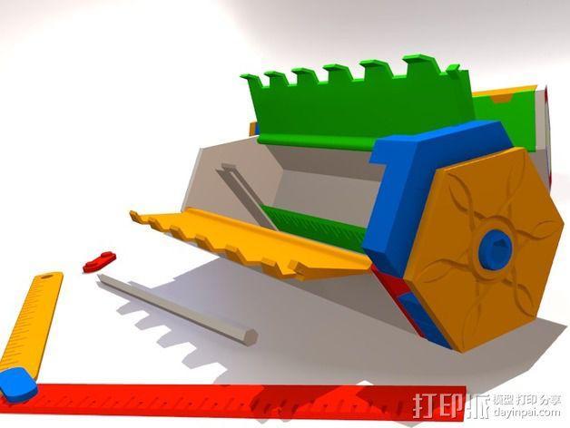 谜箱 魔术盒 3D模型  图2