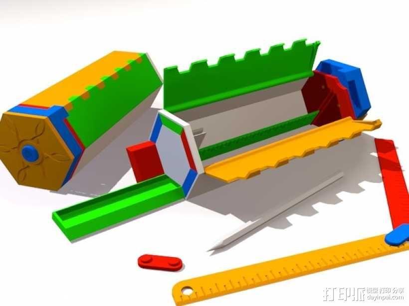 谜箱 魔术盒 3D模型  图1
