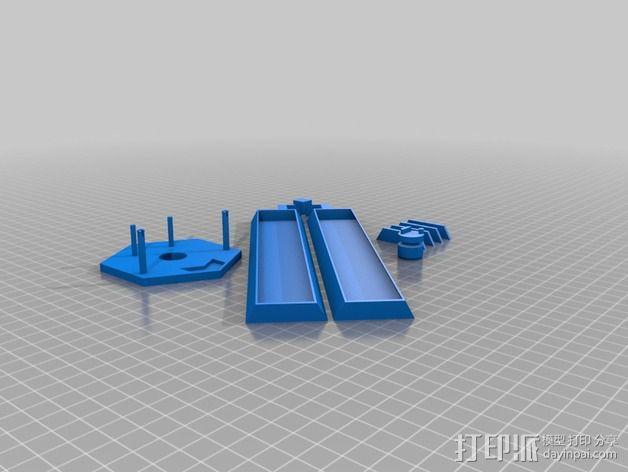 谜箱 魔术盒 3D模型  图5