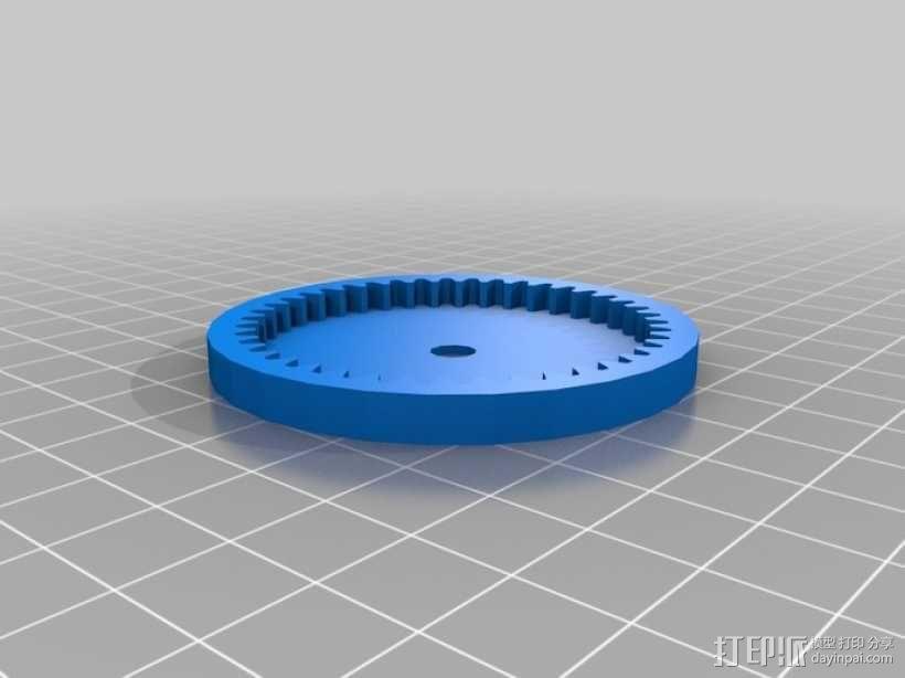 齿轮箱 3D模型  图7