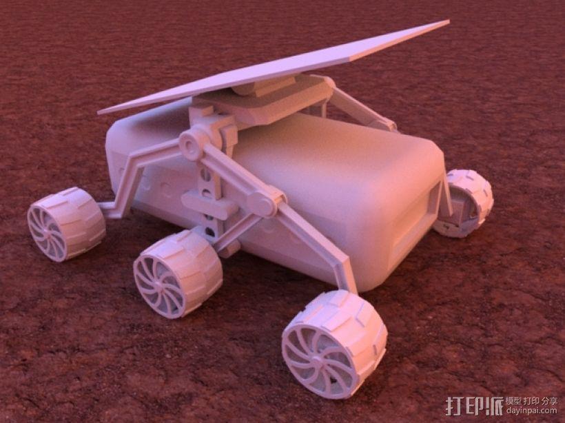 火星车 3D模型  图1