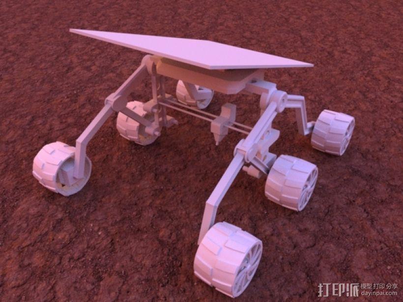 火星车 3D模型  图3