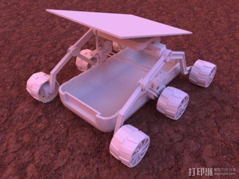 火星车 3D模型  图2