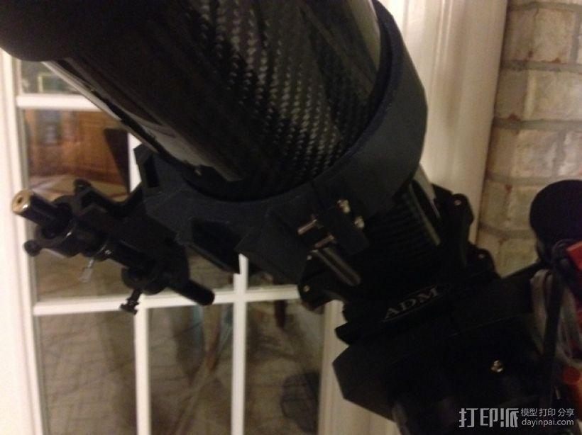 望远镜装配环 3D模型  图3