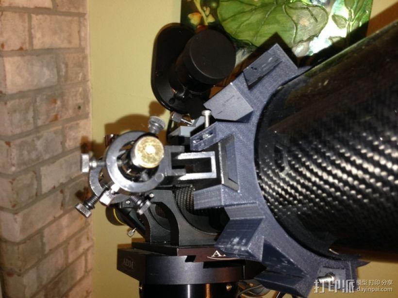 望远镜装配环 3D模型  图1