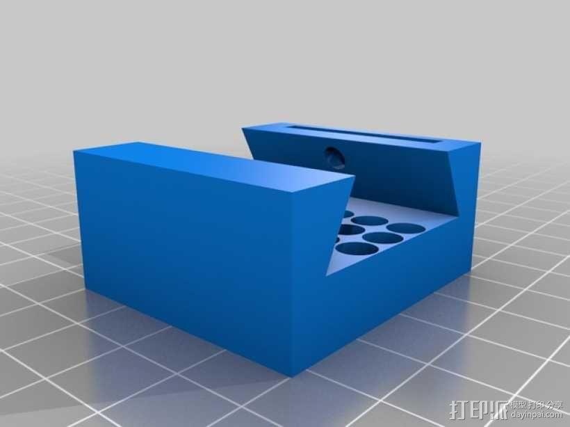 望远镜装配环 3D模型  图4