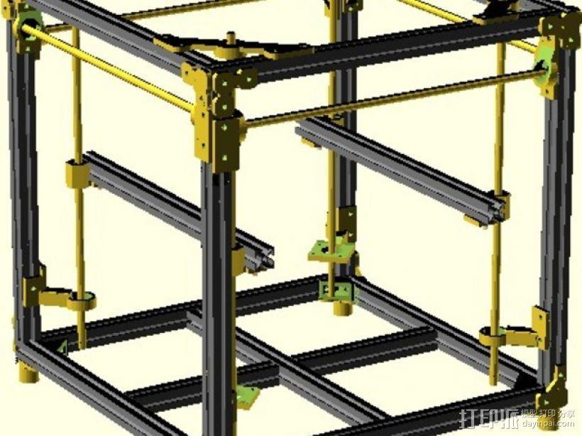 树莓派开源电脑板 3D模型  图3