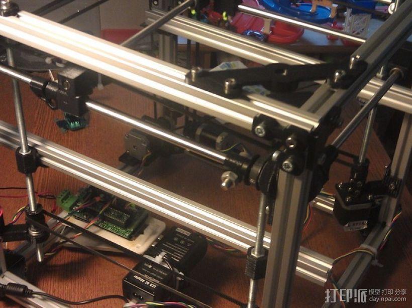 树莓派开源电脑板 3D模型  图1