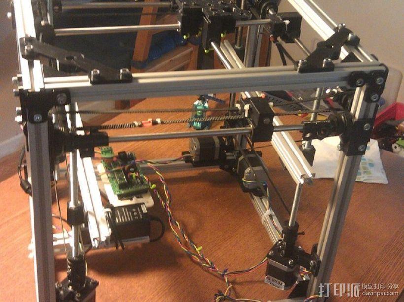 树莓派开源电脑板 3D模型  图2