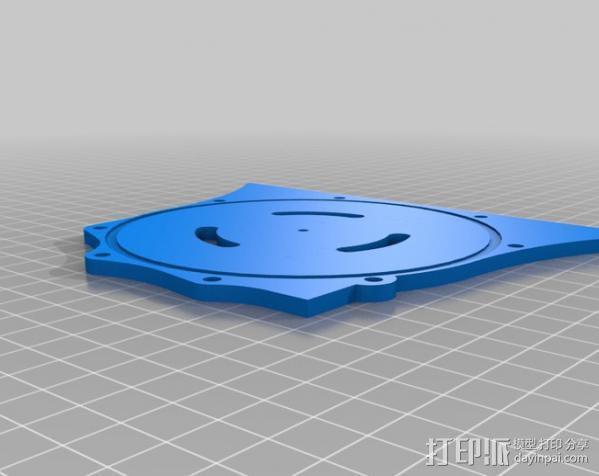 硬盘驱动器 3D模型  图2